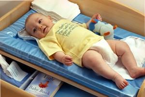 Комод для пеленания малыша