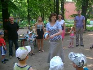 Конкурс с мячом
