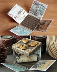 Коробка для подарков с секретом