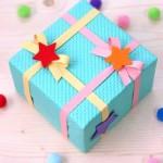 Делаем коробочку для подарков своими руками