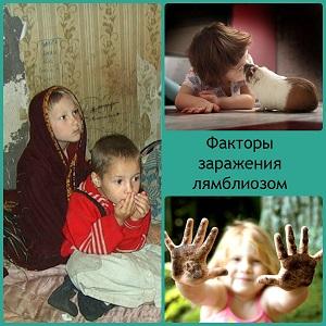 Лямблии у детей симптомы