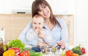 Основы питания в период лактации для молодой мамы