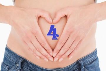 4 неделя беременности у женщины