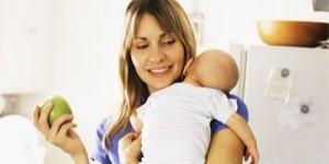 Желательное примерное меню кормящей мамы в первый месяц