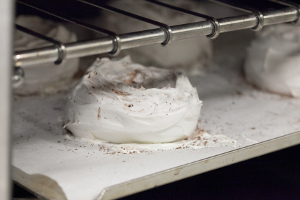 Приготовление безе в духовке
