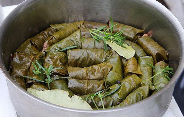 Пошаговый рецепт приготовления долмы по грузински