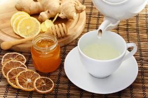 Рецепт чая для похудения с корнем имбиря