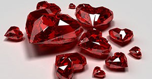 Рубиновая свадьба 40-летняя годовщина
