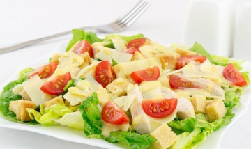 Состав салата цезарь