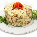 Состав салата Оливье и нюансы приготовления