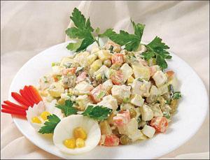 Готовим зимний салат правильно