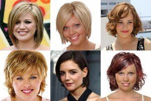 Стрижки для коротких волос и круглого лица