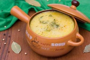 Рецепт рыбного супа с сырком