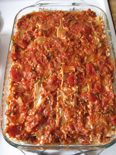 Фото рецепта лазаньи