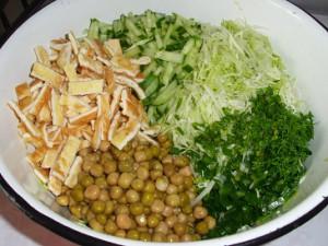 Простой процесс приготовления сытной закуски