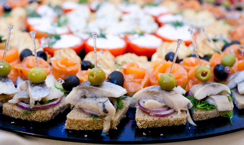 Готовые праздничные меню с рецептами вкусных блюд.