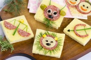 Бутерброды для детского дня рождения