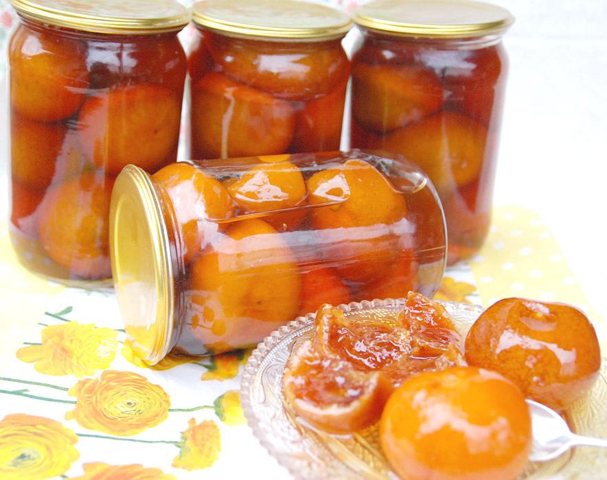 Рецепт варенья с мандарин
