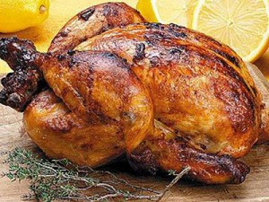 Вкусные цыплята в духовке