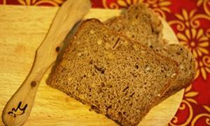 Домашний хлеб с отварным рисом