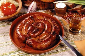 Домашняя колбаса в кишках рецепт
