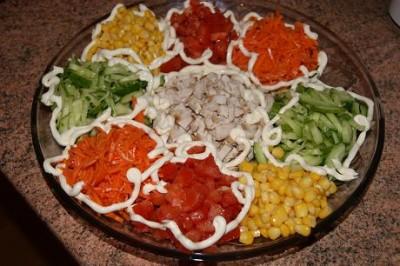 Процесс приготовления сытной закуски дома