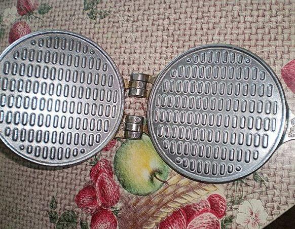 Вкусные домашние вафли