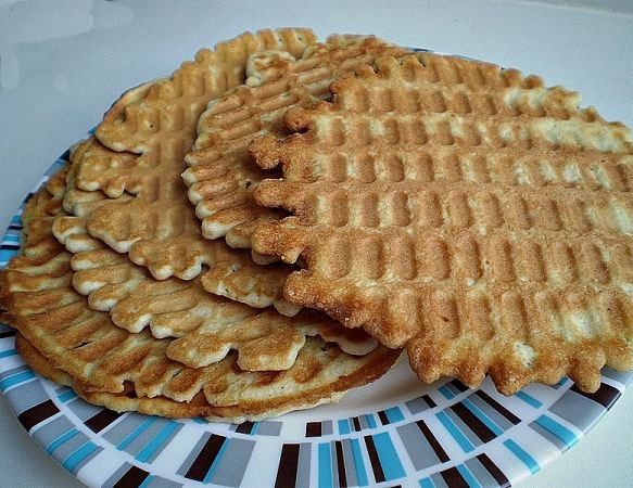 простой рецепт на вафли домашние