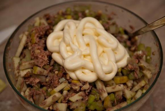Пошаговый рецепт салата загадка