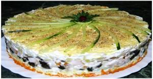 Блюдо с белыми грибочками