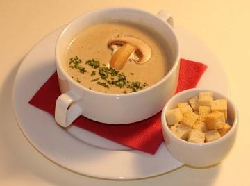 Крем суп с шампиньонами рецепт пошагово
