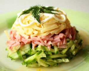 Что ещё приготовить холодной зимой из салатов