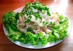 Московский салат рецепт классический