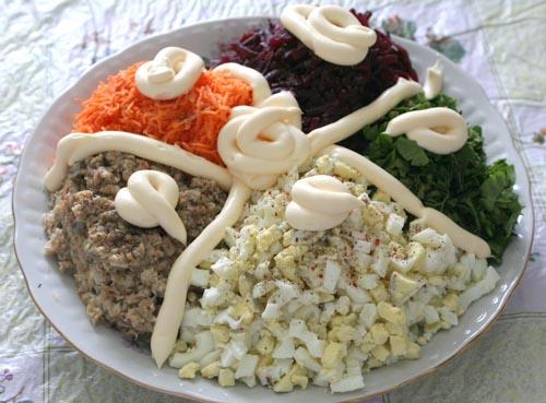 Зимний салат рецепты простые и вкусные