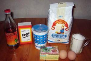 Ингредиенты торта