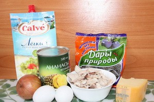 Возможные ингредиенты для блюда