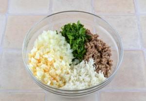 Правильные ингредиенты для блюда