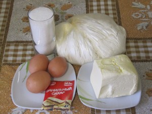 Ингридиенты для приготовления печенья курабье