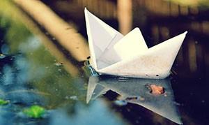 Изготовление бумажного кораблика
