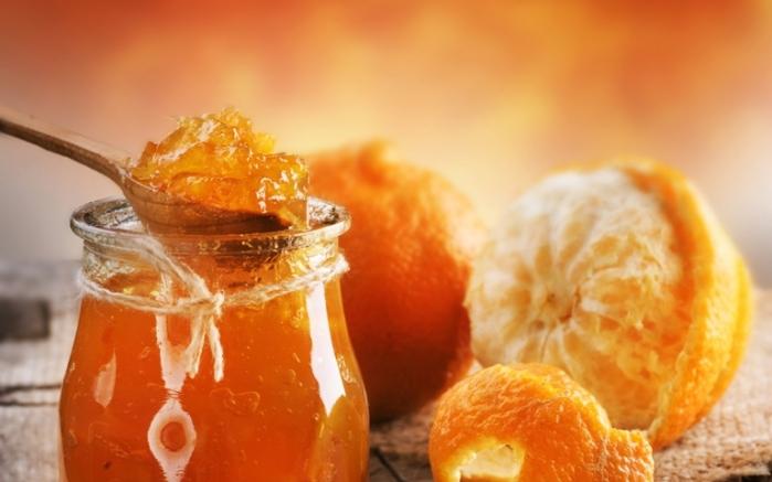 Фото варенья из мандаринов на десерт