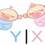 Популярная в европейских странах японская таблица определения пола ребенка