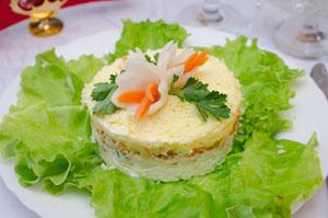 Как готовить салат мимоза