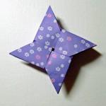 Как сделать сюрикен из бумаги: пошаговая схема с иллюстрациями