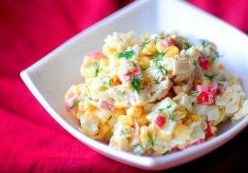 как вкусно сделать крабовый салат
