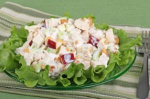 Салат с курой