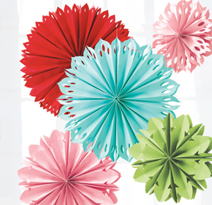 Летние бумажные цветы
