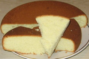 Масляное бисквитное тесто