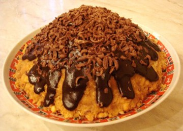 Как украсить торт муравейник в домашних условиях фото