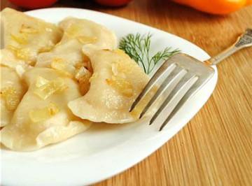 как приготовить тесто на вареники с картошкой