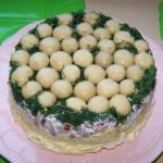 Салат «Лесная поляна» с шампиньонами: вкусно, сытно, красиво
